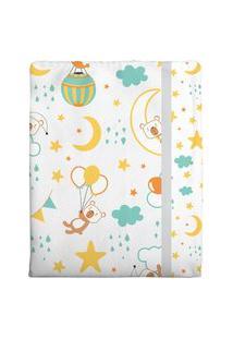 Cobertor Estampado - Cinza Bambi
