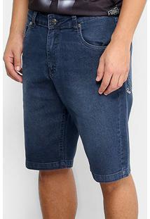 Bermuda Jeans Okdok Slim Fit Masculina - Masculino
