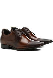 Sapato Social Couro Democrata Taller - Masculino