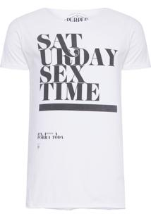 Camiseta Masculina Saturday - Branco
