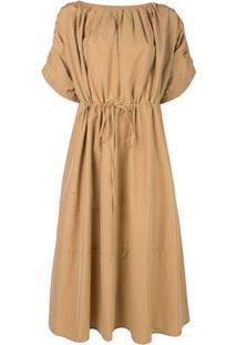 07c04324b7 Vestido Com Cinto Midi feminino