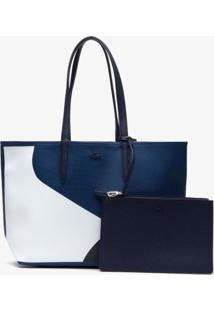 Bolsa Lacoste Access Premium Azul