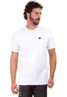 Camiseta Oakley Patch 2.0 Tee - Masculino-Branco
