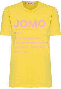 Blusa Feminina Jomo - Amarelo