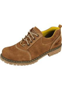 Sapato Beeton Walker403C Caramelo