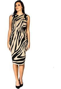 Vestido Animal Print Alphorria P