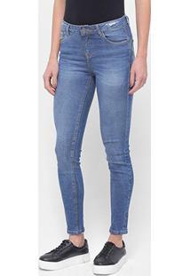 Calça Jeans Skinny Enfim Estonada Feminina - Feminino
