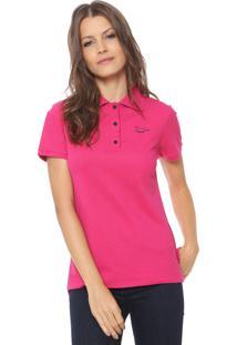 0362002758159 Camisa Pólo De Grife Poliester feminina