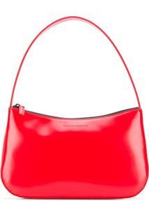 Kwaidan Editions Varnished Shoulder Bag - Vermelho