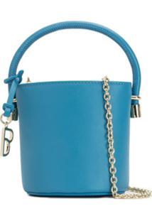 Bapy Bolsa Bucket Mini - Azul