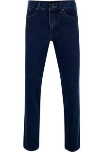 Calça Jeans Tradicional Azul Médio King