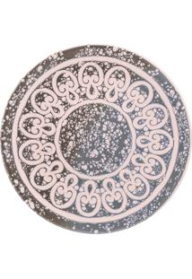 Conjunto 6 Pratos Sobremesa Oxford 19Cm Cerâmica Unni Elo Rosê