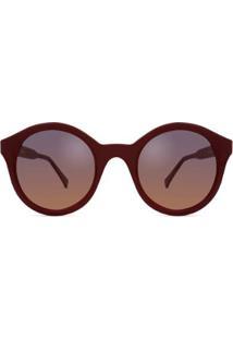 Óculos Solar Bond Street Tate Feminino - Feminino-Vinho
