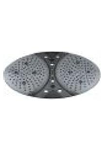 Tapete Box Banheiro 42X53Cm Antiderrapante Ventosa Hidro Preto