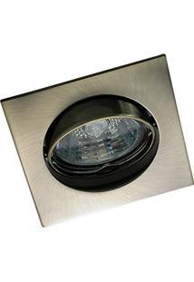 Spot Alumínio Cromado Tzq Titânio Lâmpada Dicróica