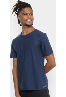 Camiseta Kohmar Flamê Masculina - Masculino-Marinho