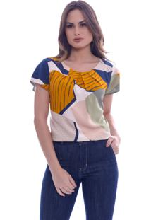 Blusa Love Poetry Estampada Natural