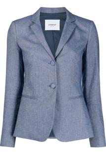 Dondup Single Breasted Blazer - Azul