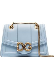 Dolce & Gabbana Bolsa Dg Amore Pequena - Azul
