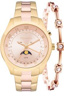 Relógio Technos Feminino Lunar 6P80Ab/5J