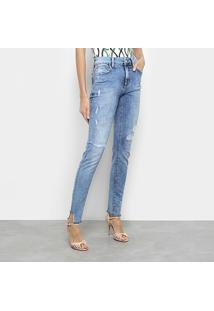 1347d093f ... Calça Jeans Skinny Fórum Marisa Cintura Média Feminina - Feminino