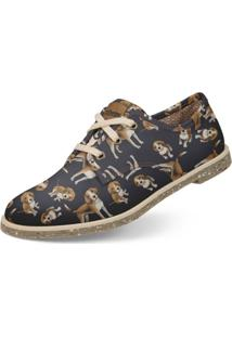 Oxford Casual Usthemp Legend Vegano Dog Beagle Azul Marinho