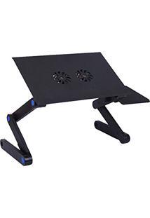 Mesa Para Notebook Com Cooler E Mouse Pad Jiaxi
