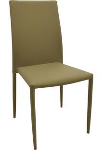 Cadeira Amanda Tecido Bege Escuro Rivatti