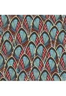 Papel Adesivo Sunset Adesivos De Parede Penas Coloridas - Rolo 6,00 X0,50 M