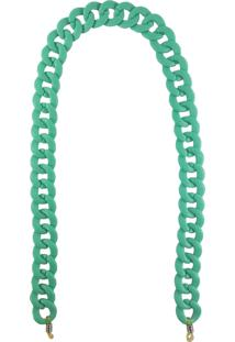 Corrente Bag Dreams Para Óculos Em Acrílico Azul Tiffany