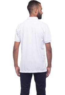 Camisa Polo Osmoze Bolso Xadrez Branco