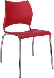 Cadeira Em Polipropileno Potim 2 48,5X56,5Cm Vermelha