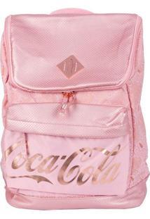 Bolsa Coca-Cola De Costas Blush Rosa T Un
