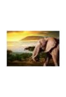 Painel Adesivo De Parede - Elefante - 241Pn-M