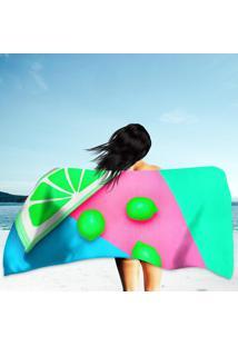Toalha De Praia / Banho Hot Sunny Vibes