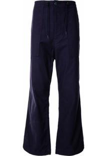 Needles Drawstring Waist Trousers - Roxo