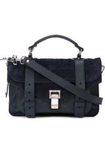 Proenza Schouler Bolsa Transversal Ps11 Pequena - Azul
