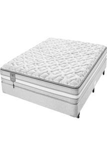 Conjunto Box Casal Molas Ensacadas Americanflex Bed Gel 138X188X73Cm