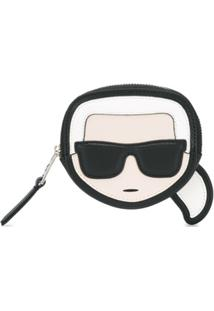 Karl Lagerfeld Porta-Moedas K/Ikonik Karl - Preto