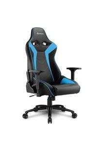 Cadeira Gamer Sharkoon Elbrus 3, Black Blue