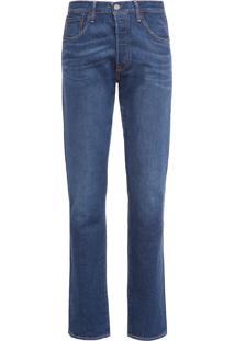 Calca Masculina Jeans 501® Taper - Azul
