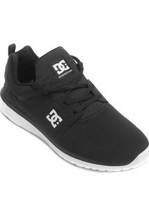 Tênis Dc Shoes Heathrow Masculino - Masculino-Preto+Branco