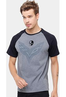 Camiseta Corvette Raglan Mixed Flame Masculina - Masculino
