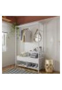 Guarda-Roupa Closet Modulado Prats Branco