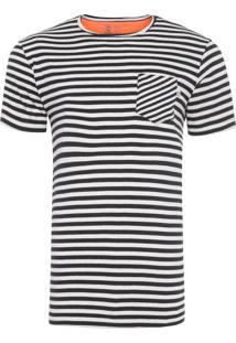 Camiseta Masculina Navy Premium - Preto