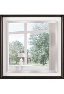Espelho Decorativo Pádua 75X75 Cm Preto