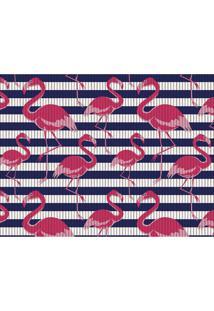 Tapete De Cozinha Flamingo 43X65Cm - Kapazi - Estampado