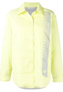 T By Alexander Wang Quilted Straight Jacket - Amarelo