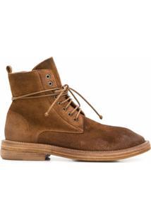 Marsèll Ankle Boot Com Cadarço - Neutro