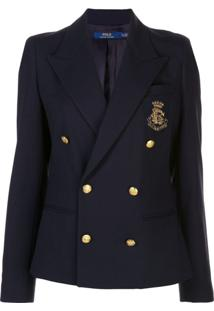 Polo Ralph Lauren Double-Breasted Jacket - Azul